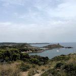 Sa Torreta y Favàritx - Visto desde cala Tamarells (Camí de Cavalls)