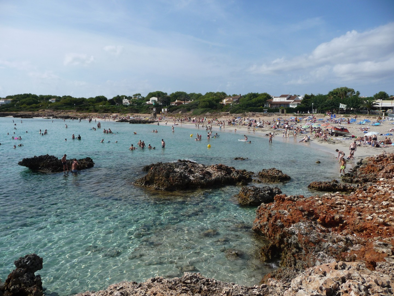 Beach Near Ciutadella