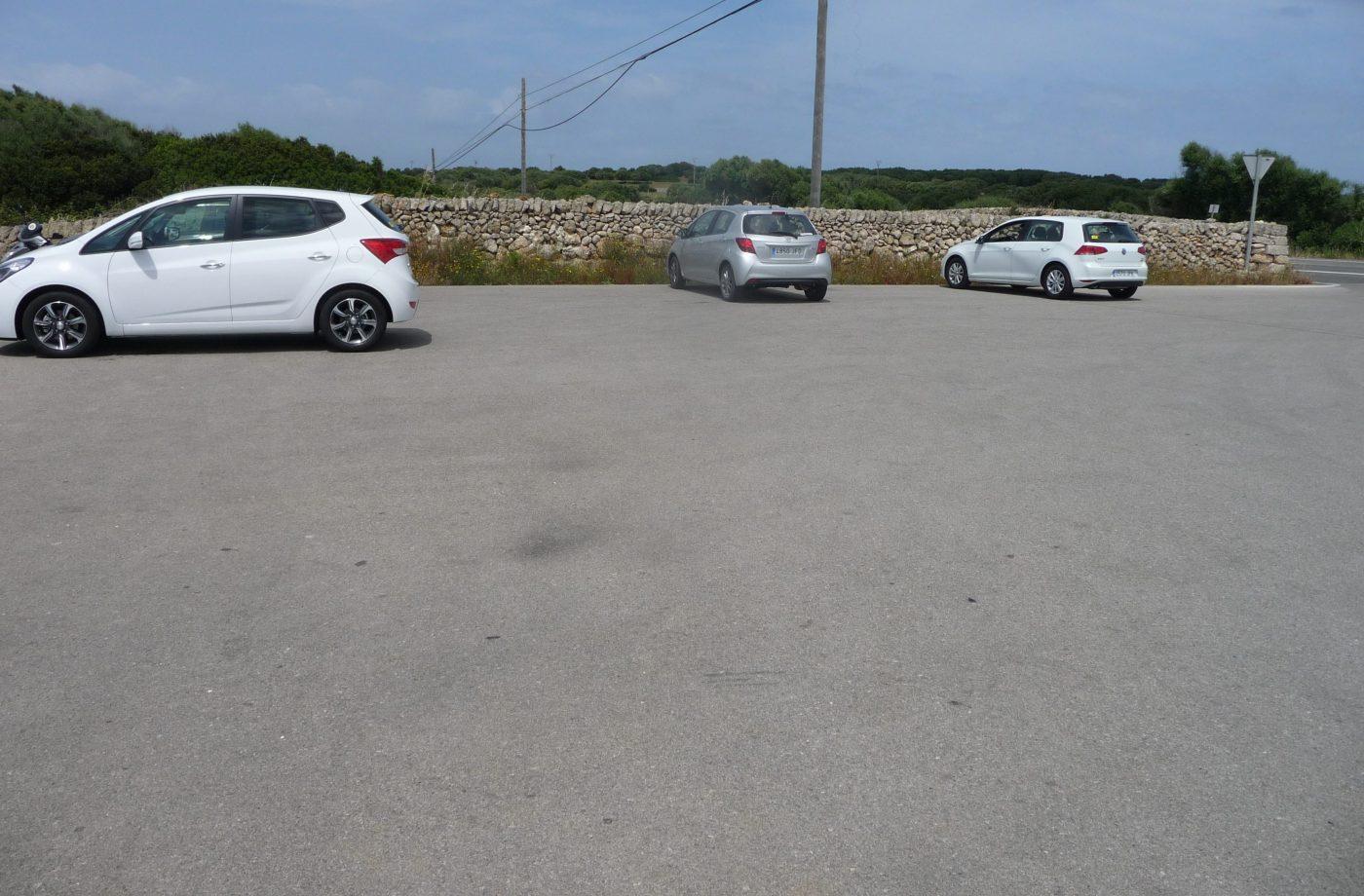 Parking Naveta des Tudons