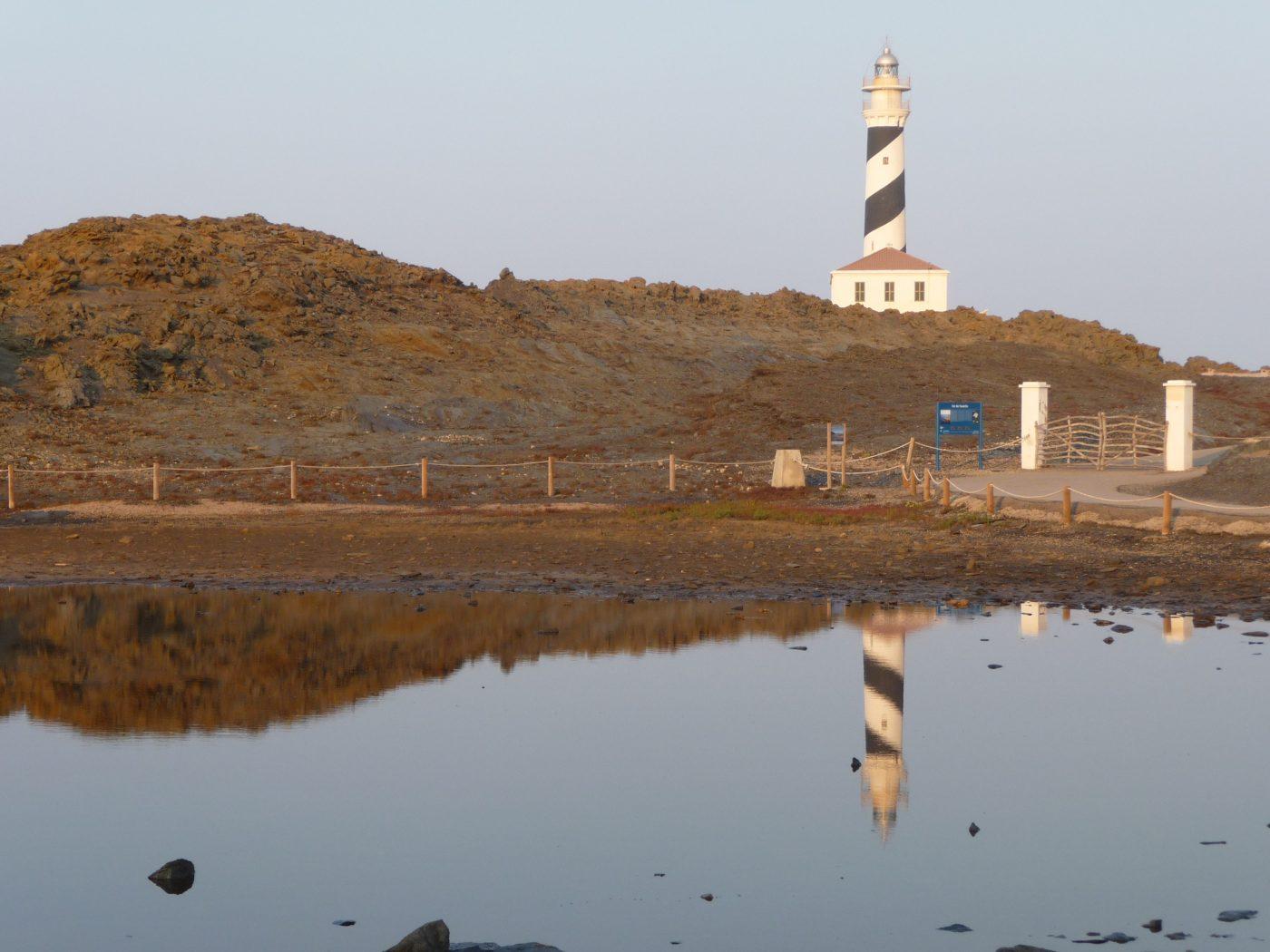 Faro de Favaritx y Cos des Sindic