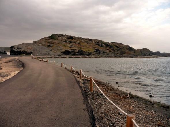 Balsa temporal Cós des Síndic - Vista desde el Faro de Favaritx