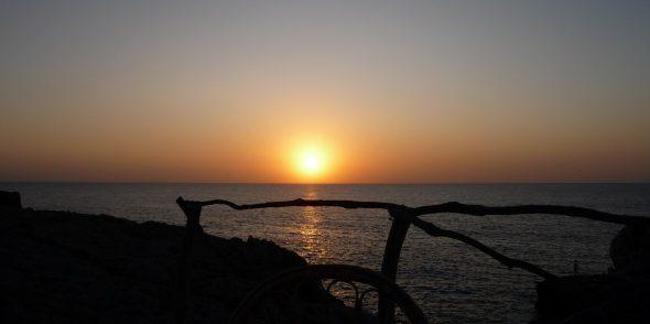puesta sol menorca clima