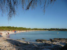 Playas de Son Saura en Ciutadella (Bellavista)