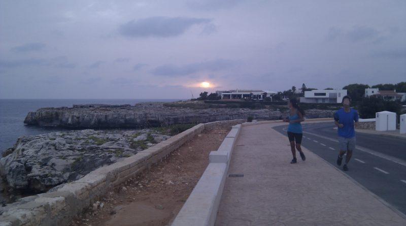 Footing en paseo maritimo sa farola 2