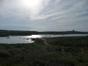 Puerto Sa Nitja y Torre de Sanitja