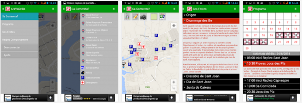 AraVaDeBo Android App - Sant Joan 2014
