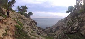 Camino a Cala Escorxada - Vídeo 2014