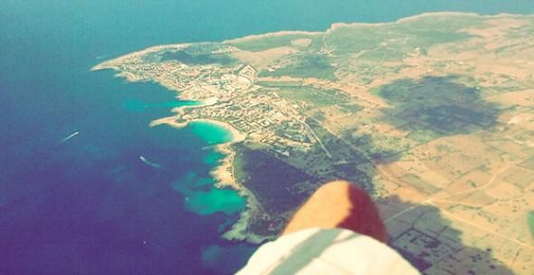 Parapente en Menorca