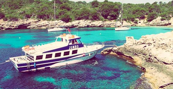 Excursión en Barco por el Sur de Menorca