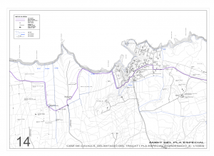 Mapa Camí de Cavalls - Cala Morell