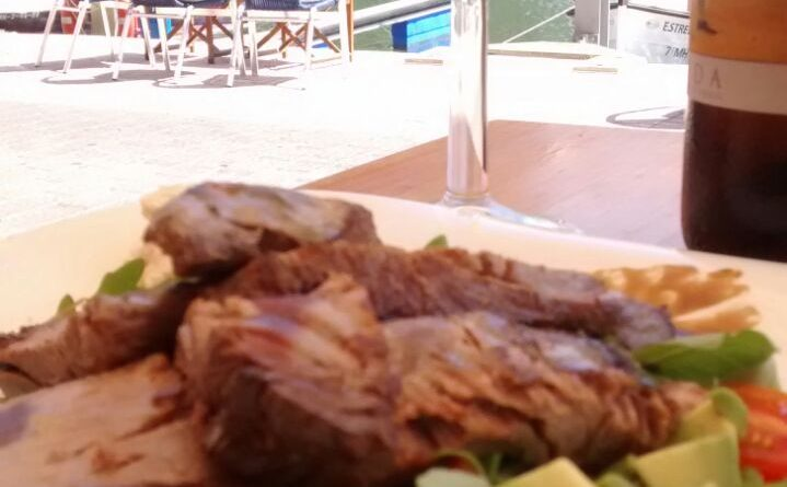 Filete de Atún a la brasa - mandimandi