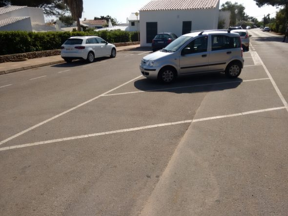 Parking cala binisafuller
