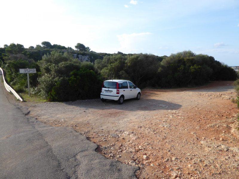 Parking de Biniparratx