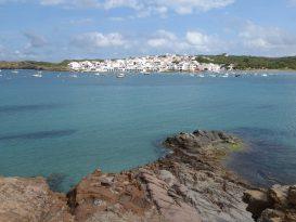 Vista del pueblo de Es Grau - P1020559